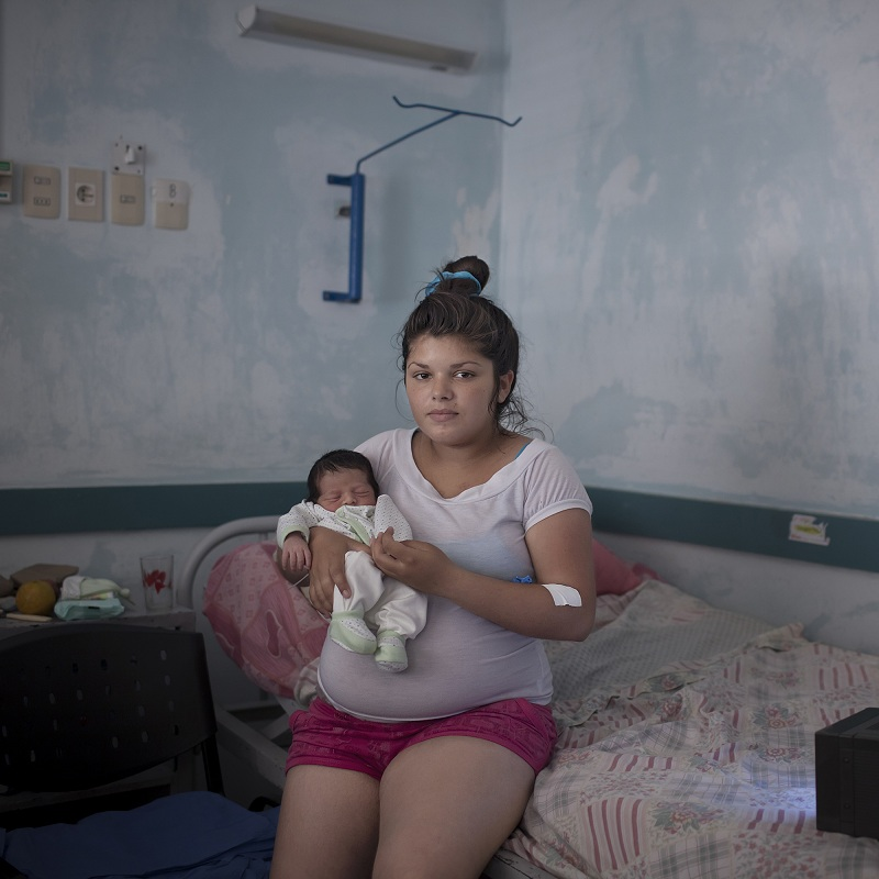 "Micaela and her son, Franco. Micaela's mother was, like her, a teenage mother. For a photo project about teenage pregnancy in Latin America, @christian_foto examined his own upbringing. ""I am the son of a teenage mother,"" @christian_foto told our pho"