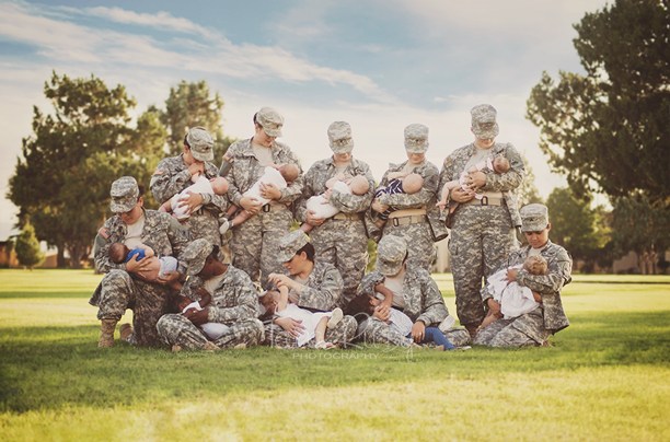 military-breastfeeding
