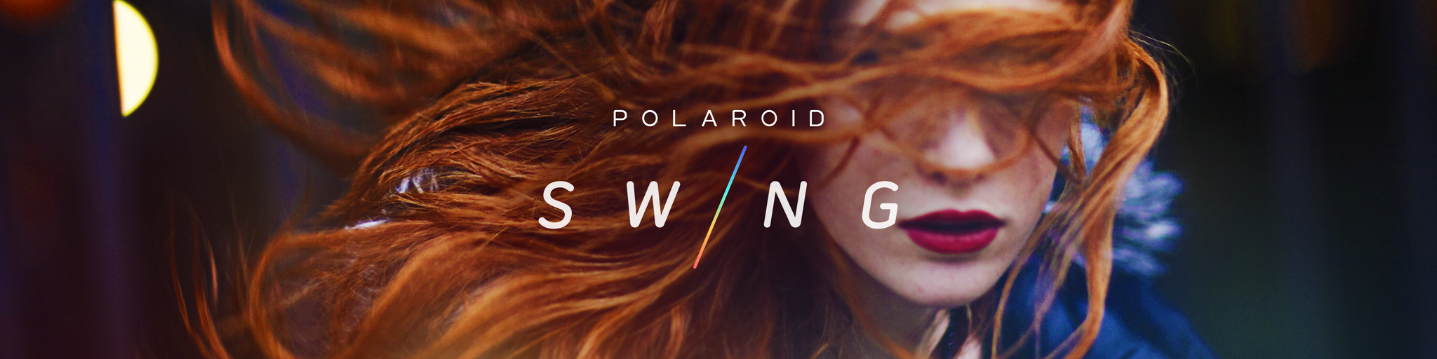 Polaroid Swing Banner