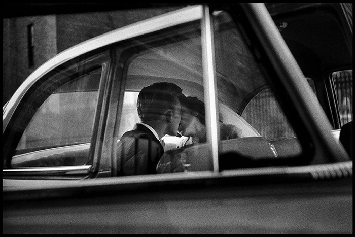 USA. New York City. 1955. Only for use in direct connection with publicity for the Magnum Photos Square Print Sale, 'Closer' from 5 - 10 June 2017. Any unauthorised image use will be charged for by Magnum Photos.