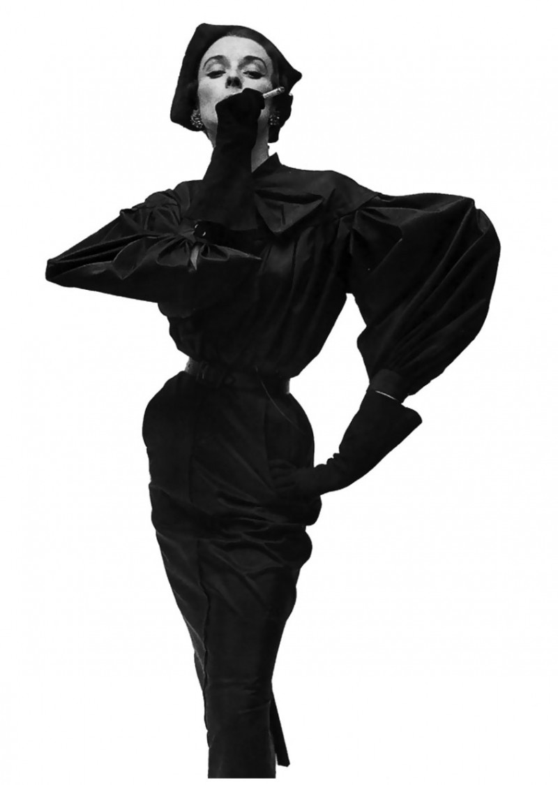 056-model-in-balenciaga-vogue-1950-photographed-by-irving-penn-the-red-list