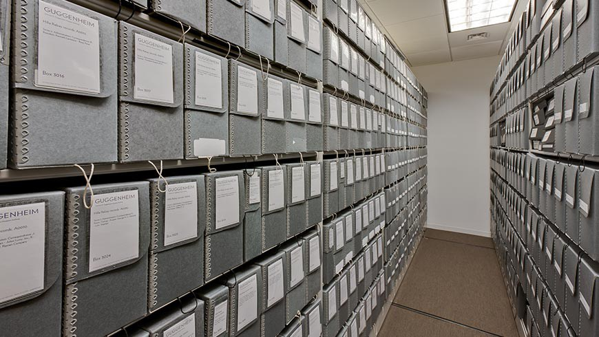 Library Archives at 345 Hudson Street; Guggenheim Museum Offices, New York